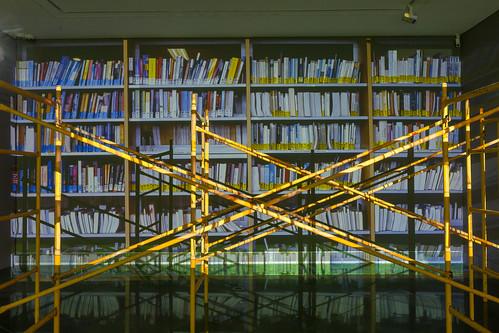 Salas expositivas Presente y pasado, la memoria y su construcción. Ana Teresa Otega