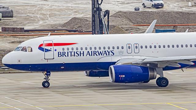 British Airways Airbus A320 G-EUYR Munich (MUC/EDDM)
