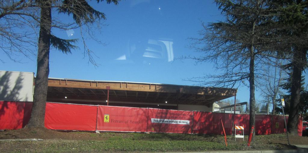 Ferrari of Bellevue gets a face lift !!!