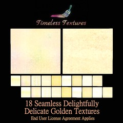 TT 18 Seamless Delightfully Delicate Golden Timeless Textures