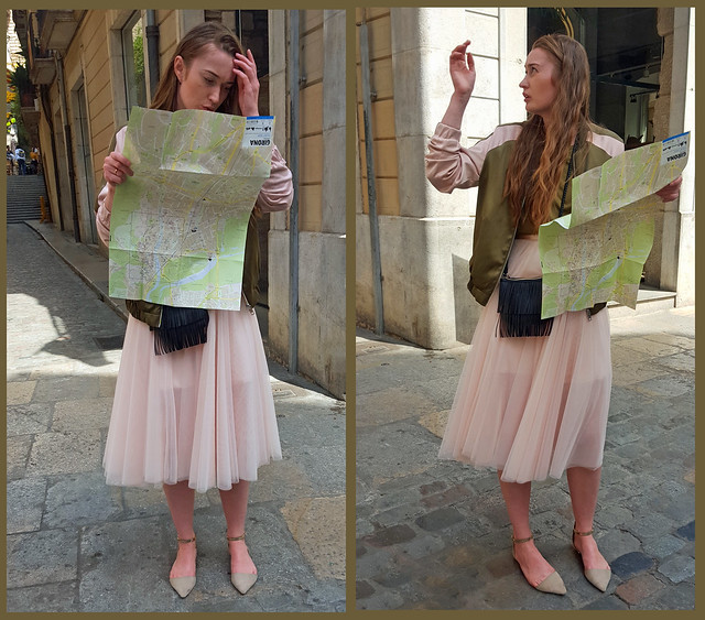 The Difficulty of Translating the Map to the City - Girona, Spain