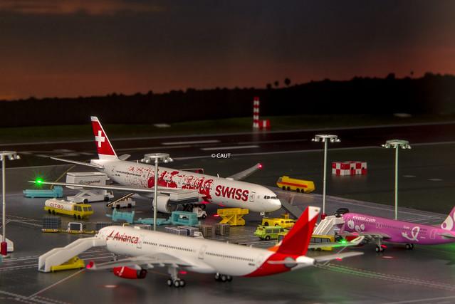 Flight LX79 - Swiss International Boeing B777-300ER (HB-JNA) 'People's Plane' livery JCW ©