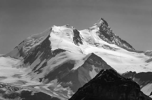 Sulle Alpi svizzere (agosto 1981)