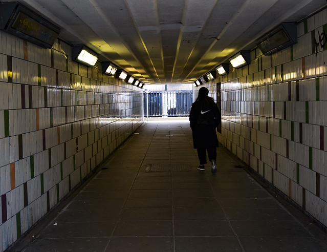 Underpass under A12, Bromley by Bow