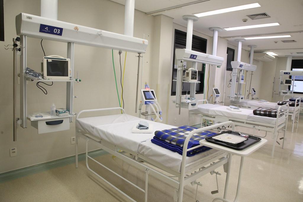 Inauguração do Hospital de Campanha Santa Cecília