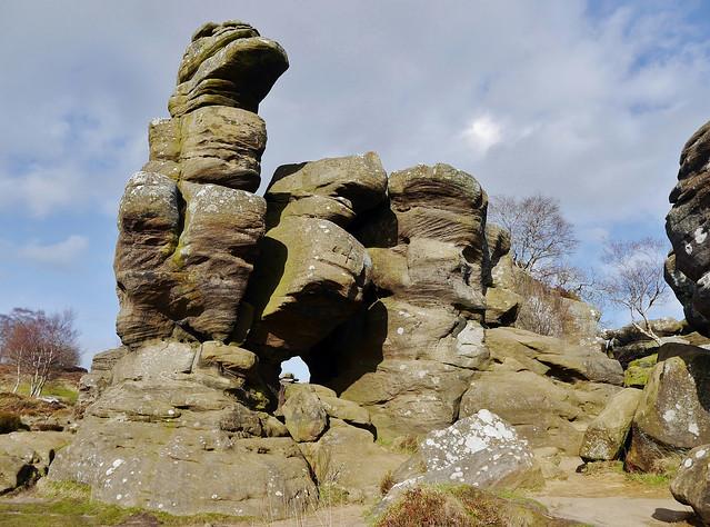 Eagle Rock (Brimham Rocks,) Nidderdale