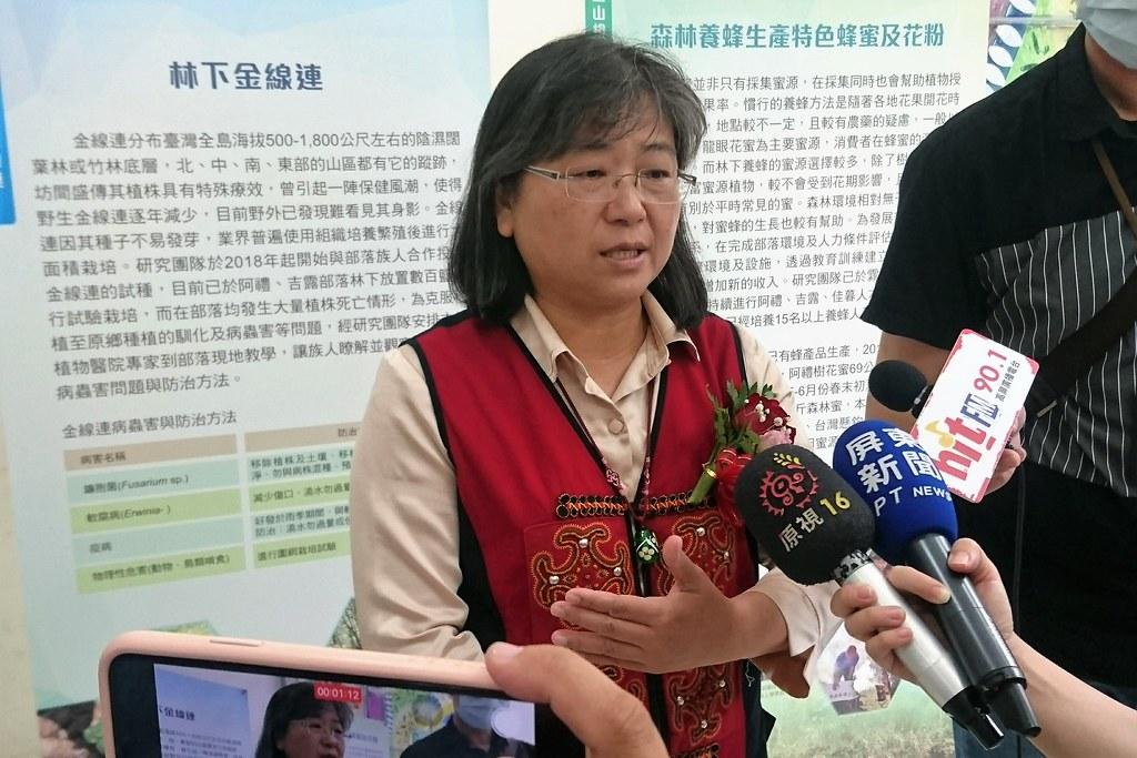 陳美惠說,阿禮部落做出一個模式,讓偏鄉地方藉由協同共管找到永續里山經濟的方法。攝影:李育琴