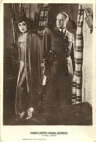 Maria Jacobini and  Harry Liedtke in Orient (1924)