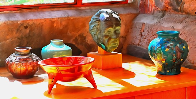 Art objects - Taliesin West - Scottsdale Arizona