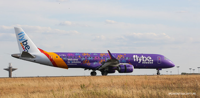 Embraer E195LR Flybe - Welcome to Yorkshire livery