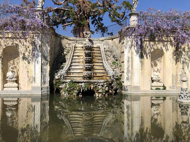 Jardines de la Quinta del Duque del Arco en El Pardo (Madrid)