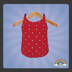 ((RBS)) Bandanas (Red) Swimsuit