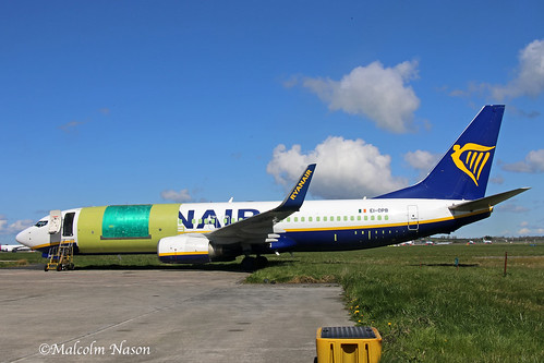 B737-8AS(BCF) EI-DPB (F-HIQD) ASL AIRLINES ex Ryanair colours