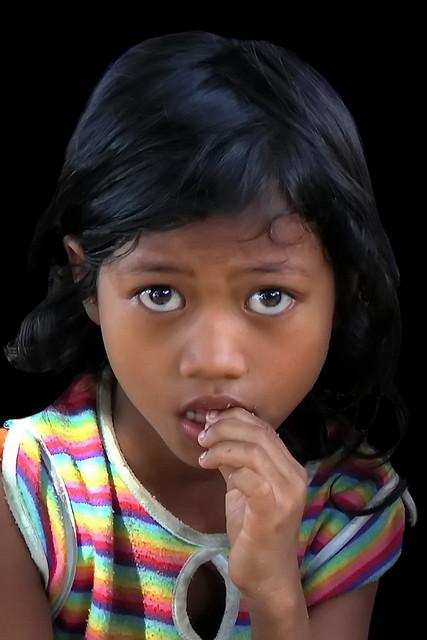 Cambodia - Sihanoukville - Young Girl - 2d