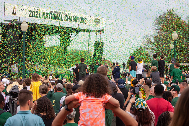 Baylor Basketball National Championship Parade_8746