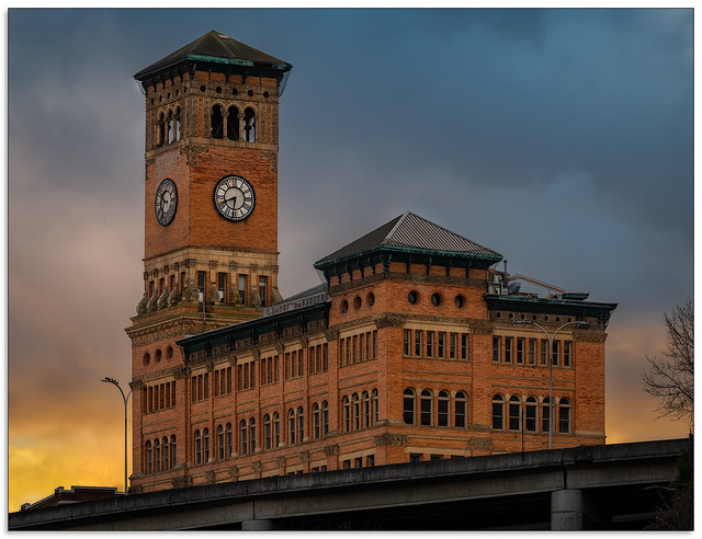 Tacoma's Old City Hall Building