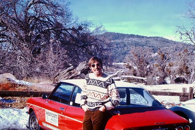 Found Photo - 1970s Guy & Mazda