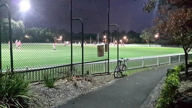 Footy training VFL, Camberwell
