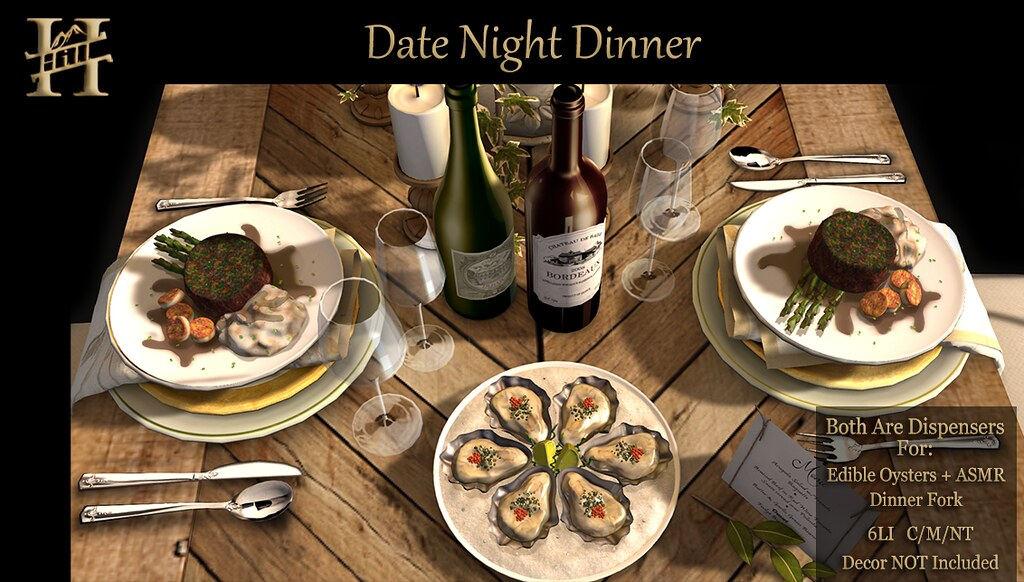 Chef HILL - Date Night Dinner