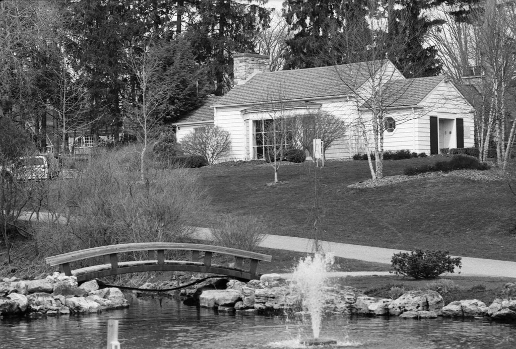Gairloch Gift Shop, Bridge and Fountain