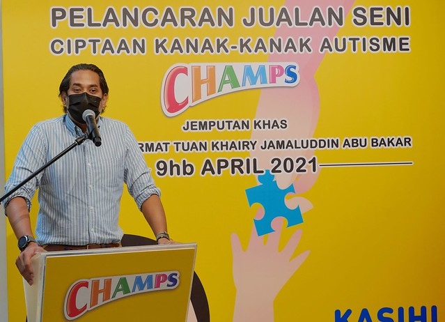 Kasihi Autisme bersama Champs - Event Pix 1