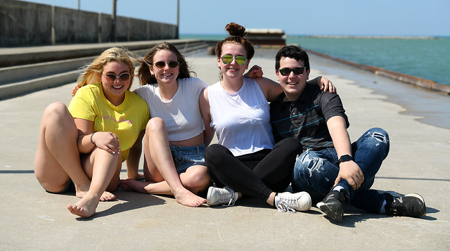 Friends on the Pier
