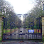 Suitably sombre gateway to Preston Cemetery