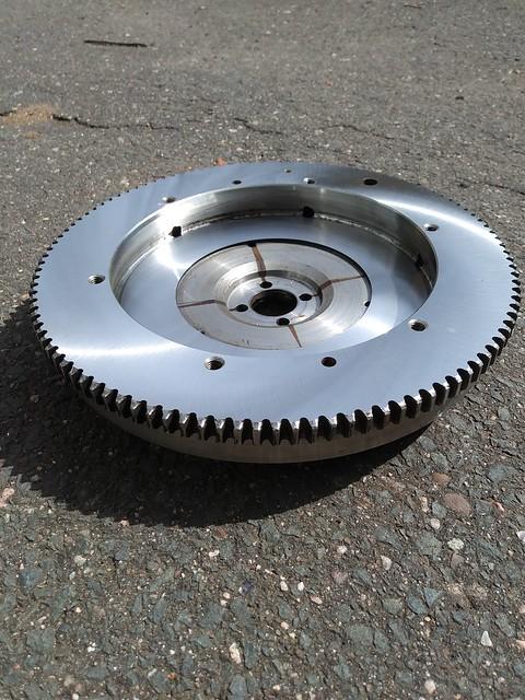 Resurfaced Flywheel, 1963 VW.