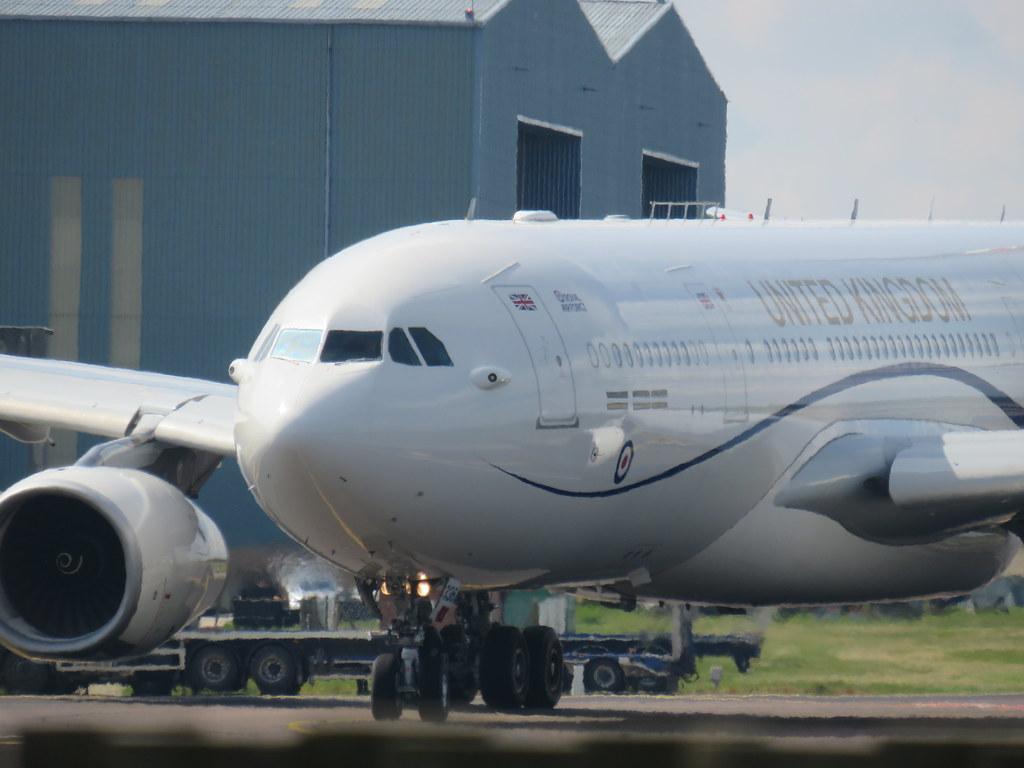 RAF Airbus A330 Voyager ZZ336 TARTAN29