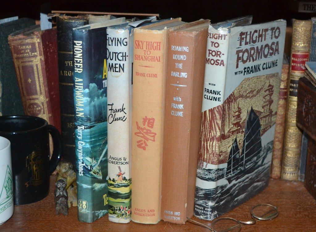 Adventure and travel books