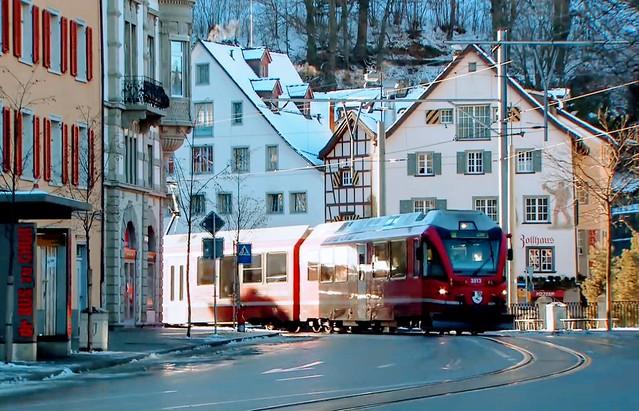 Hello By The Train-Switzerland