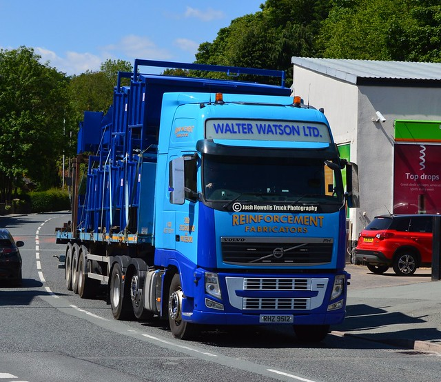 Walter Watson RHZ 9512 At Llanfair Caereinion