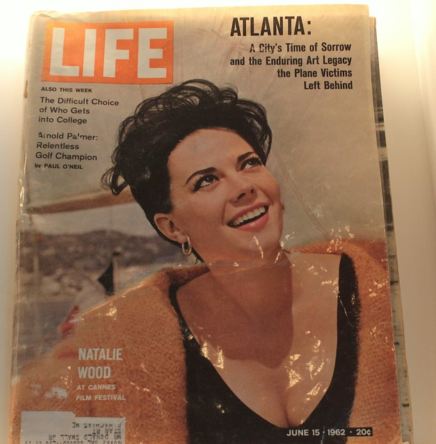 Natalie Wood on 'Life' Cover
