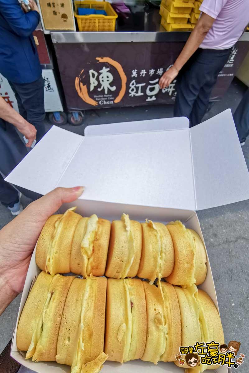 萬丹市場紅豆餅 陳家紅豆餅-3