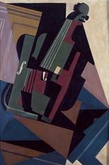 1916_Скрипка. 79.5 х 53.6 см. Мадрид, Музей королевы Софии