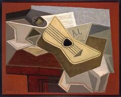 1925_Гитара и журнал. 65 х 81 см. Мадрид, Музей королевы Софии