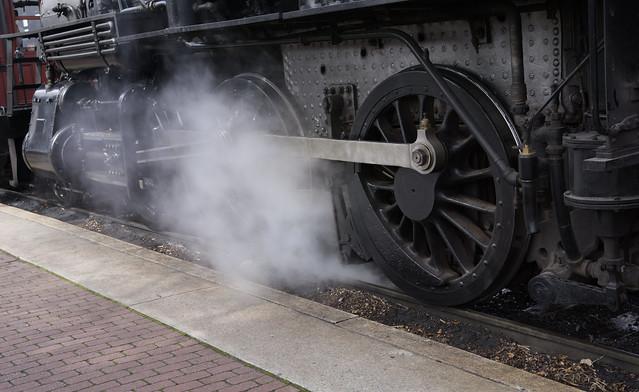steam at strasburg