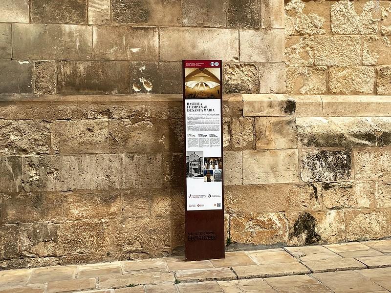 Plaques als carrers de Vilafranca
