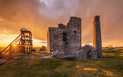 Sunset at Magpie mine