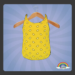 ((RBS)) Bandanas (Yellow) Swimsuit