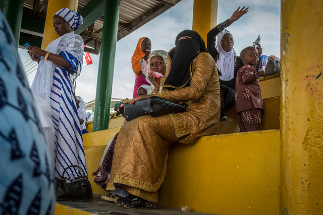 Muslim women in Cape Coast, Ghana