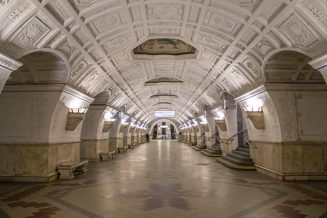 Moscow Metro. Belorusskaya (Circle line)