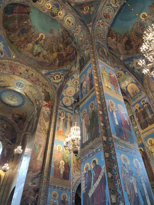 Санкт-Петербург - Спас на Крови - Росписи