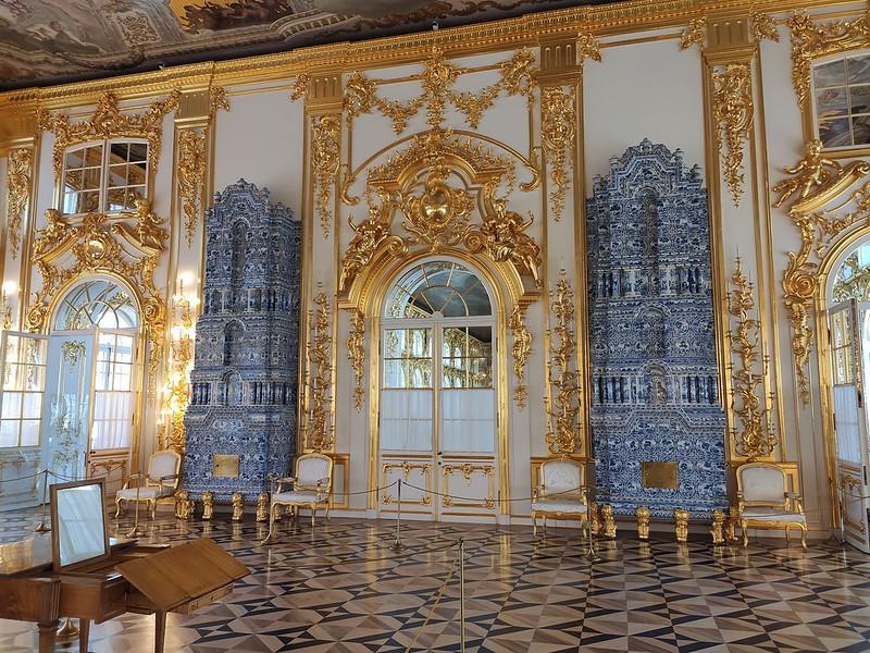 Большой Екатерининский дворец - Камины