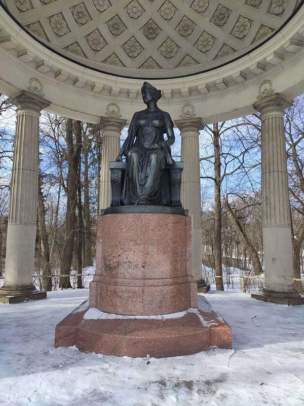 Павловск - Памятник Марии Федоровне