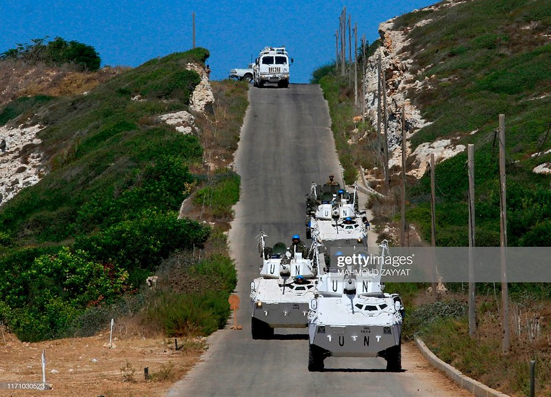 VEC-M1-unifil-exercise-near-naqura-20190925-gty-2