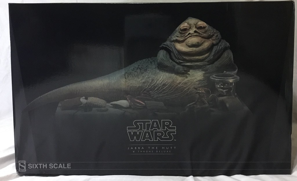 Sideshow Jabba the Hutt Deluxe Figure