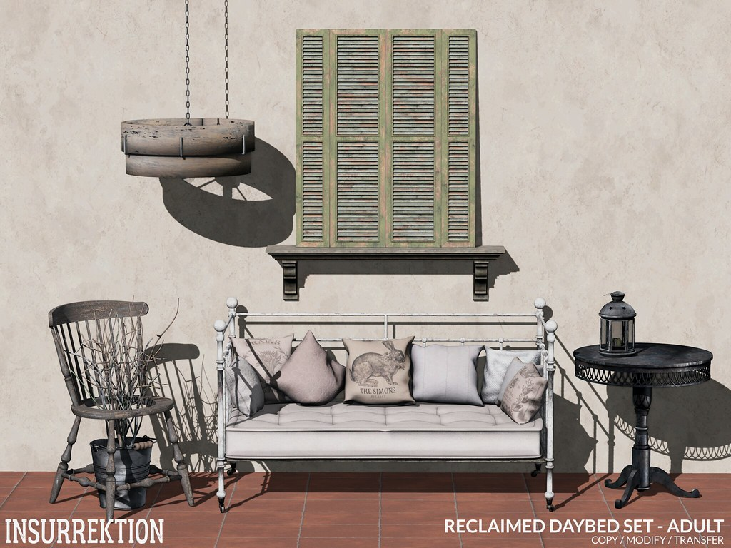[IK] Reclaimed Daybed Set - Adult AD