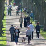People at Avenham Park