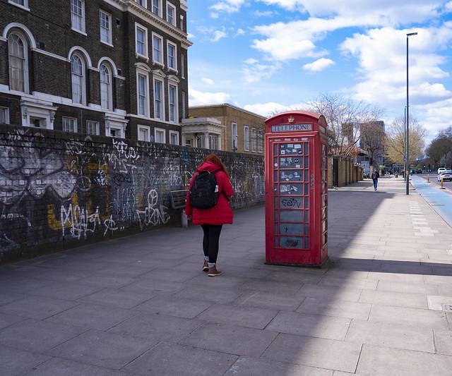 Phone Box, Bow Road